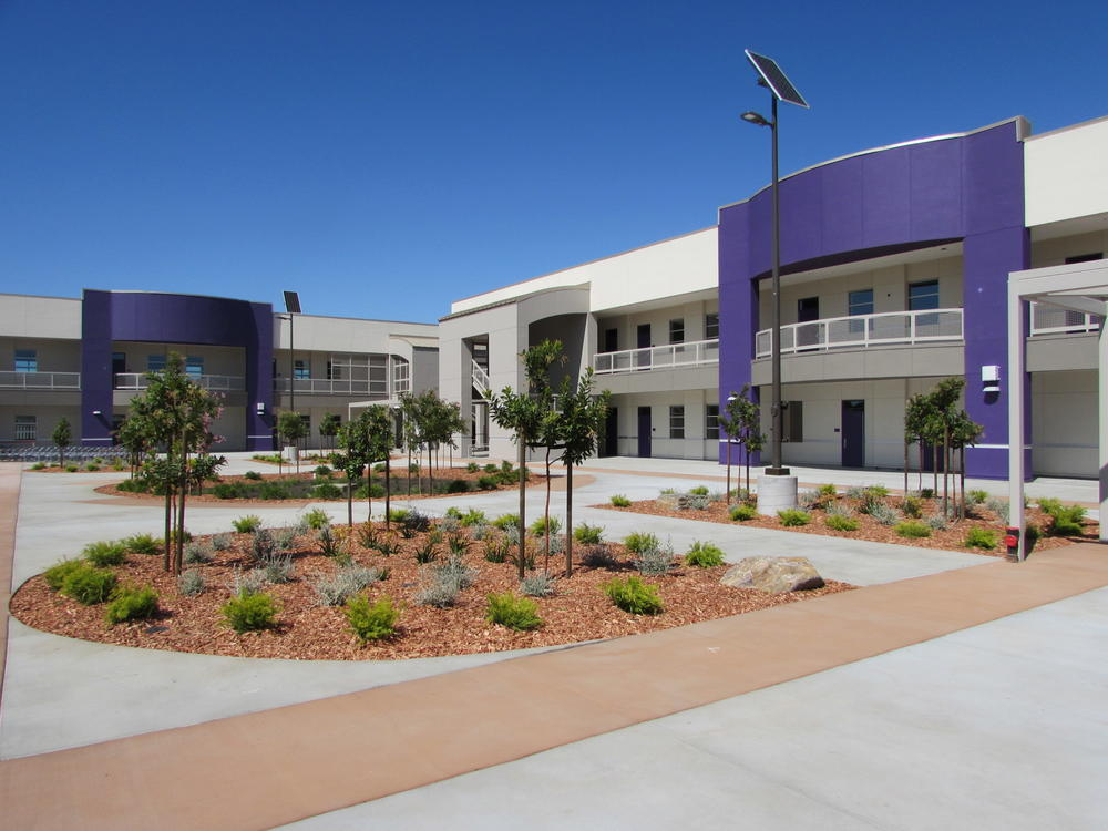 New classroom buildings at Walters Middle School