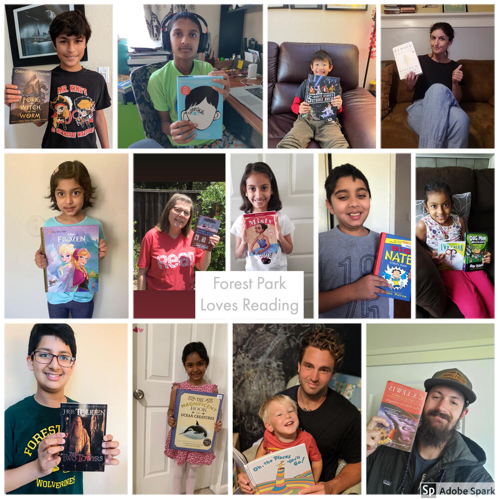 Students and staff at Forest Park Elementary spent their Spirit Day last Friday showing off some of their favorite books...