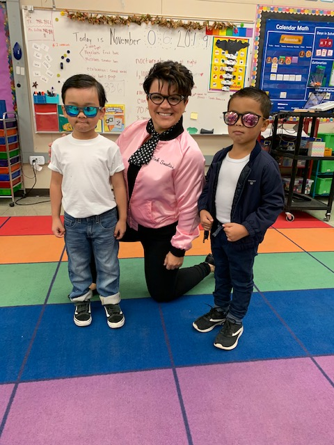 Green Elementary students and staff marked the 50th day of the school year with a 50 s-themed Spirit Day.