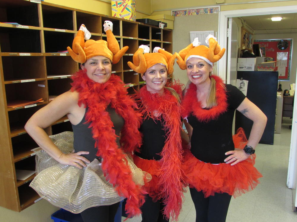 Centerville staff ready for Turkey Trot November 21st.