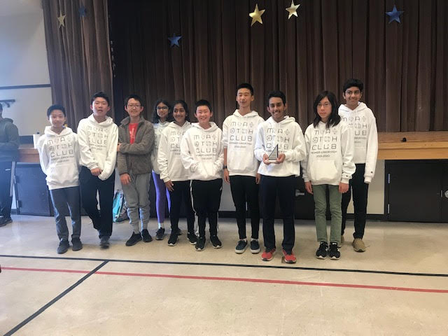Horner s MathCounts Team at Regional Competition Feb. 15th.