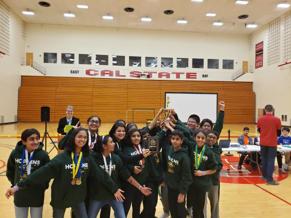 Hopkins Junior High Science Olympiad Team