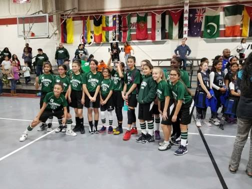 Gomes Elementary Girls Basketball Team