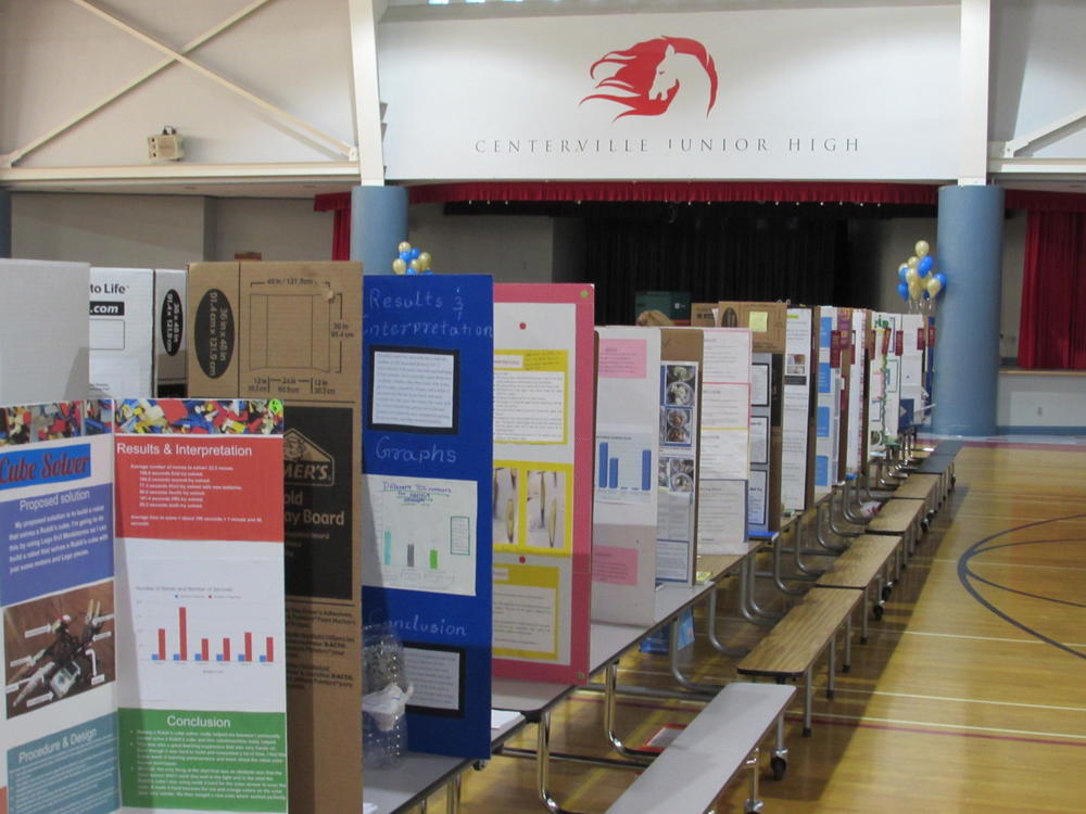 FUSD Science   Engineering Fair at Centerville Junior High School.