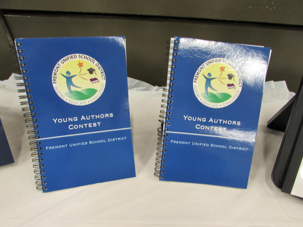 Young Authors Contest Awards Ceremony.
